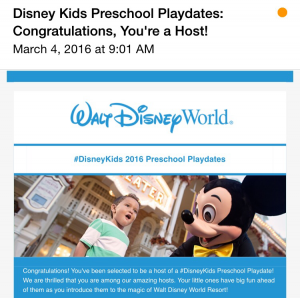 Disney Kids Preschool Playdate Planning