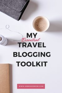 Travel Blogging Toolkit