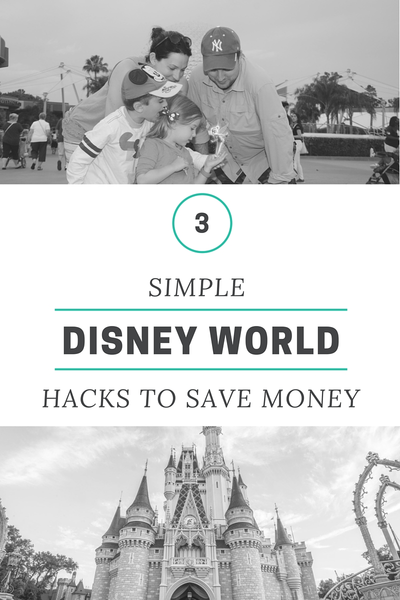 3 SIMPLE DIsney WORLD