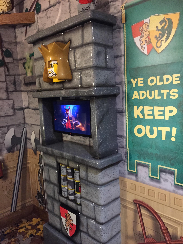 Legoland Florida Resort Kingdom room decor