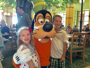 Disney Character Dining at Garden Grove