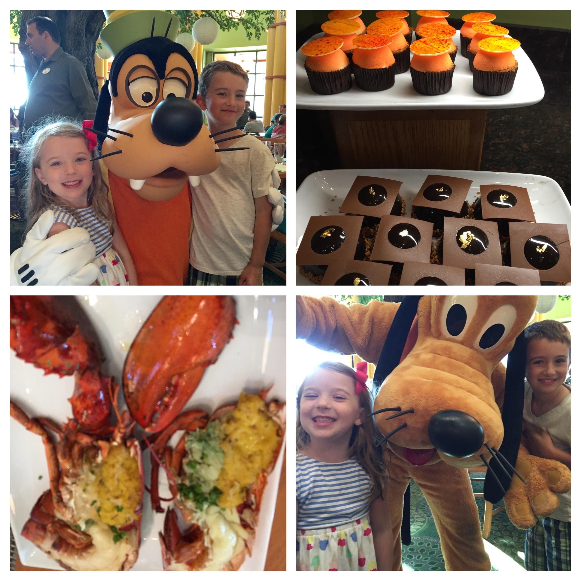 Disney Character Dining - Garden Grove