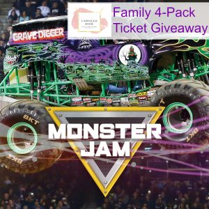Monster Jam Family 4-Pack Ticket Giveaway!