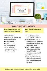 Heart Attack Symptoms in Women: Health Tips Unboxed