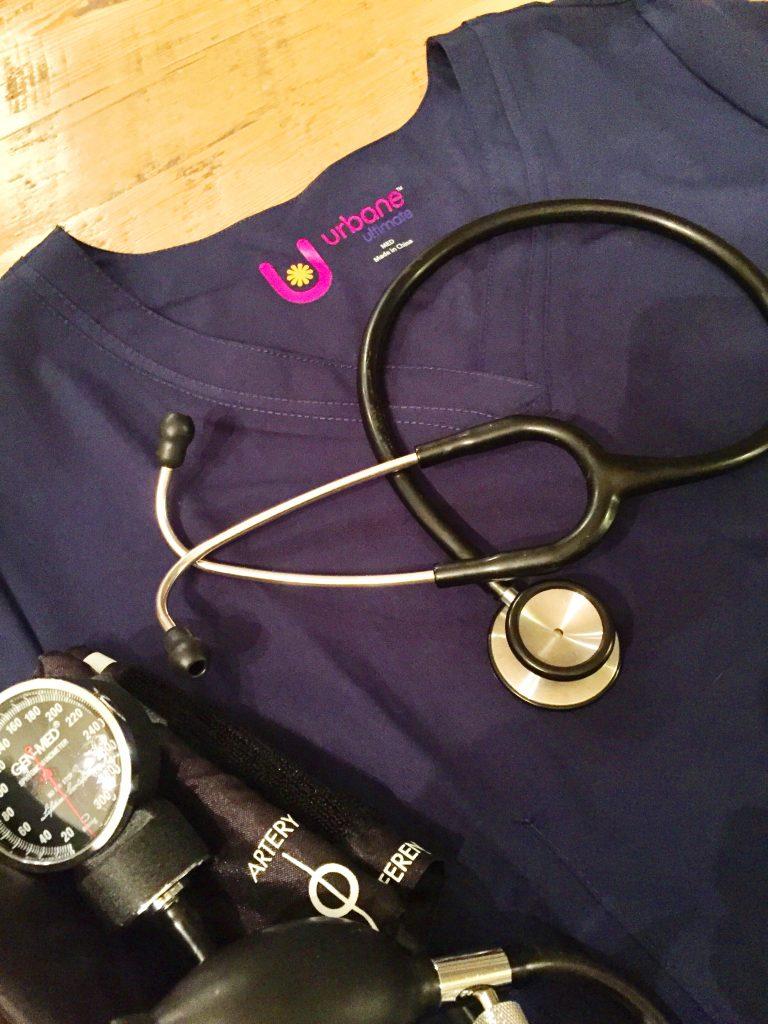 Nursing Career and Motherhood Landau Scrubs Giveaway