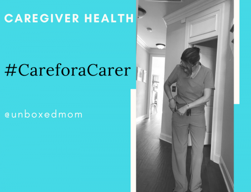 Caregiver Health #CareforaCarer