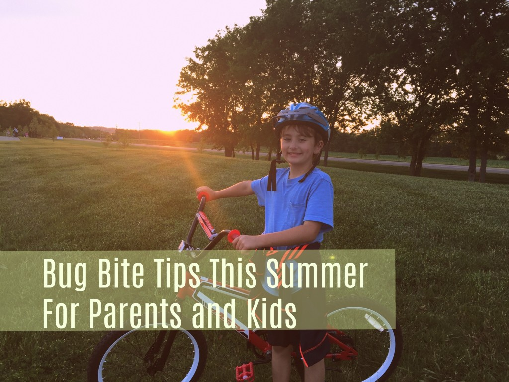 Here are some helpful reminders and tips for parents on summer safety including key points like how to treat and prevent bug bites.